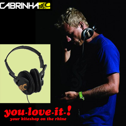 CABRINHA HiFi Headphones BLACK