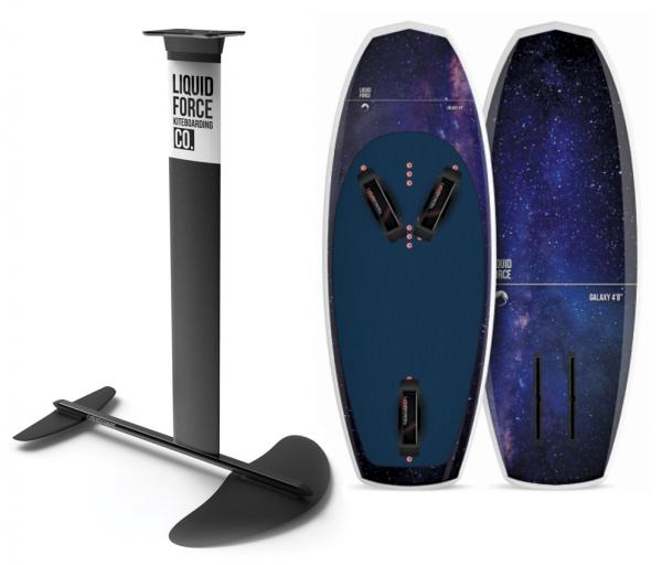 2019 Liquid Force Rocket Foil & Galaxy Set (Foil & Board)