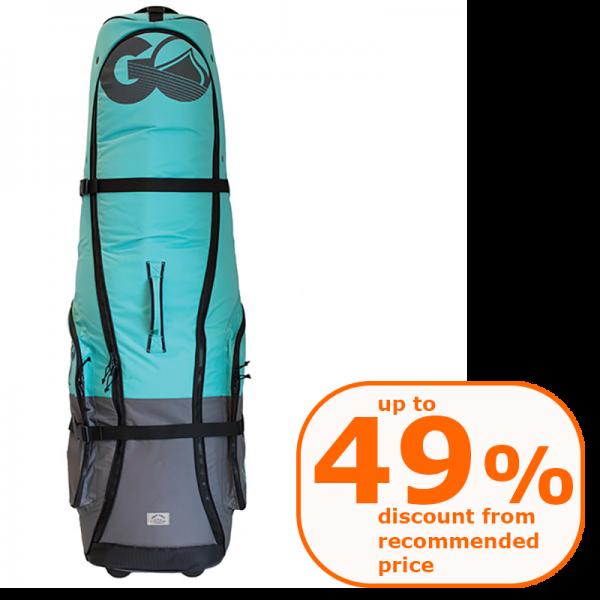 2020 Liquid Force kite golf bag BLUE with wheels