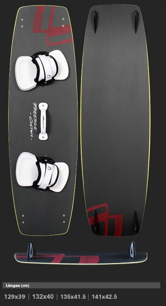ANTON KITEBOARDS SL Custom Freeride Carbon