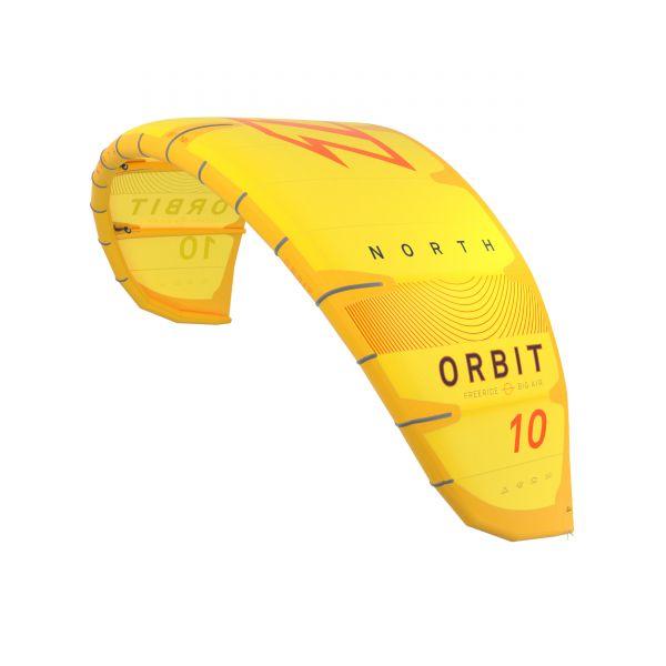 2020 North Kiteboarding Orbit 7m yellow DEMO KITE