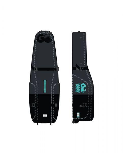 2020 Liquid Force kite golf bag BLACK with wheels