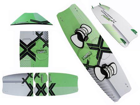 2021 CONCEPT X Kiteboard Ruler Pro/ Split Series incl. Pads n Straps