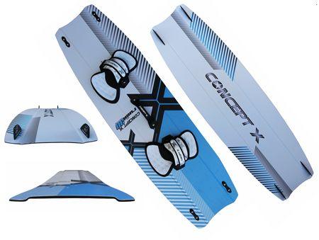 Concept X Kiteboard Rush 3D 145x45cm