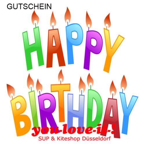 YOU LOVE IT EINKAUFSGUTSCHEIN - Gift Voucher