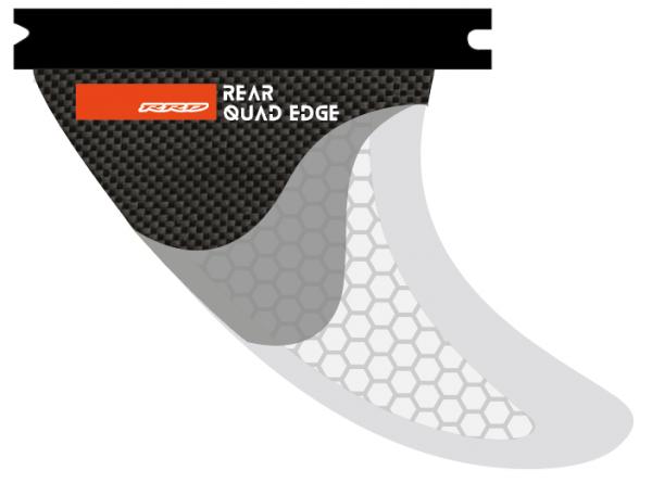 RRD Edge Thruster Fin Set Rear Quad