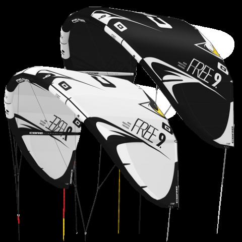 Core Free DEMO Kite 12m Black