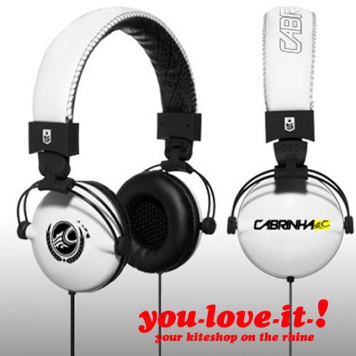 CABRINHA HiFi Headphones WHITE
