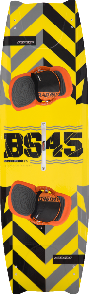 2018 RRD BS 45 BS45 V5 yellow