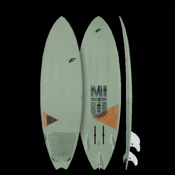 2020 F-ONE Kiteboarding Mitu Pro Bamboo Foil